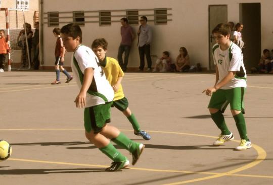 el futbol en los niños