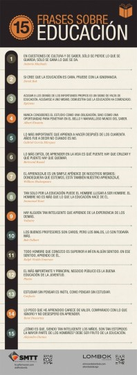 15 frases educativas